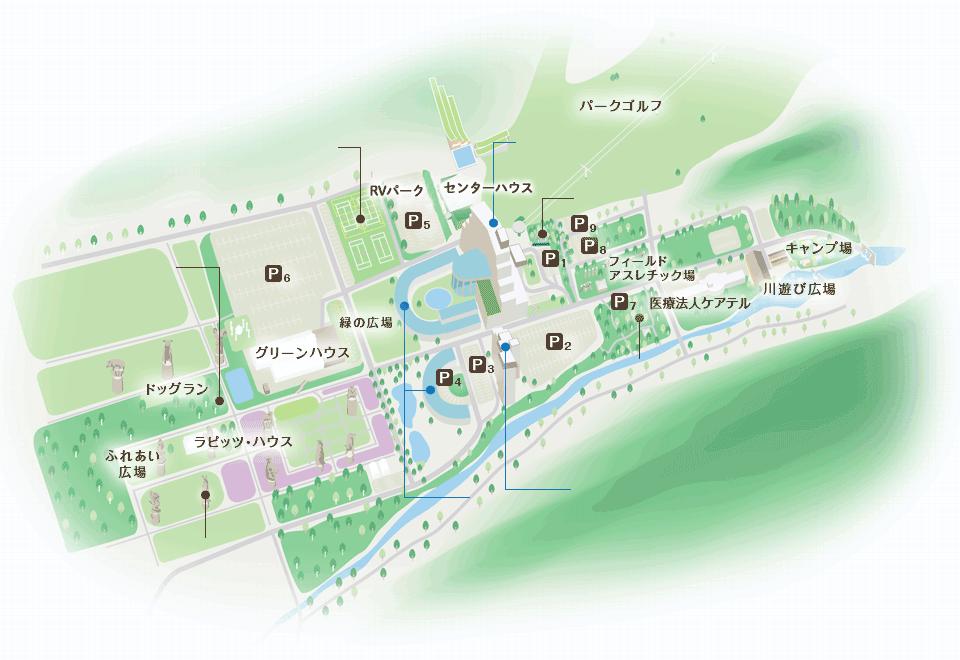 リステルパークマップ
